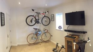 Two all in one hanging system racing bike