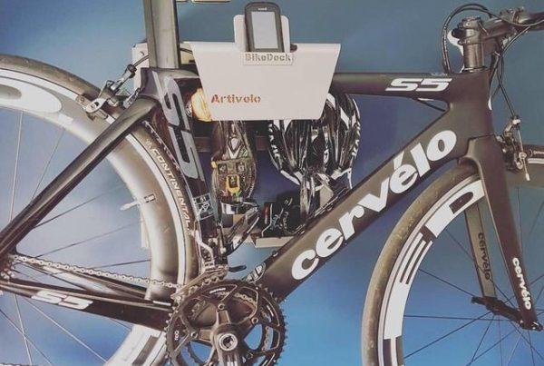 Unique hanging system racing bike