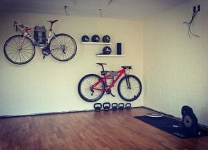 Hanging systems racing bikes