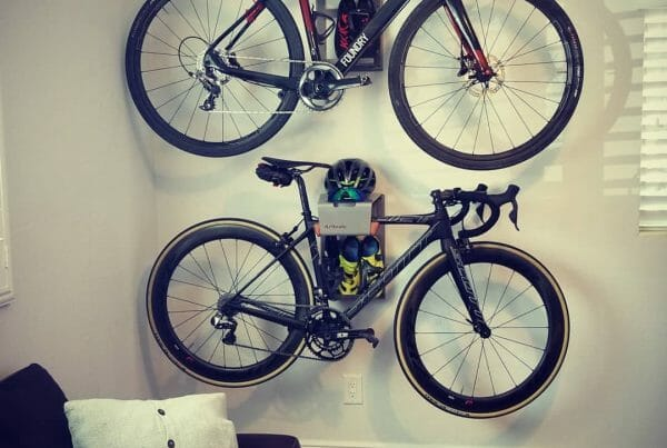 Hang your bikes on the wall like Andrew