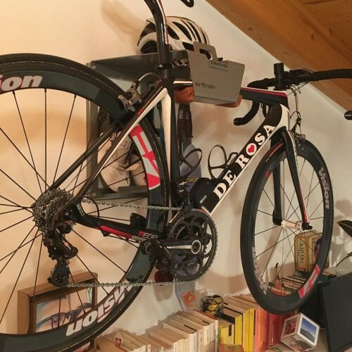 Hang your bike on the wall like Matteo