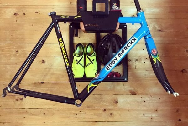 Hang your bike on the wall like Le Coffee Ride