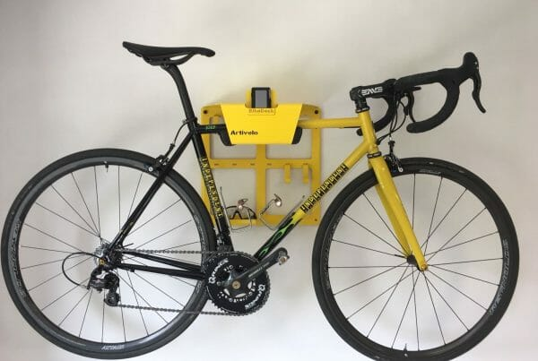 Hang your bike on the wall like CcPeloton