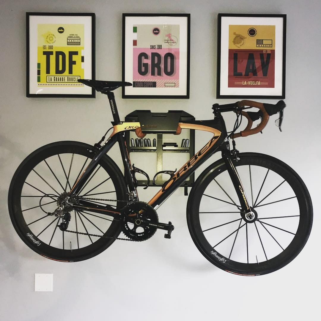 Your bike as a peace of art on the wall