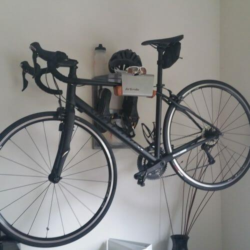 road bike suspension bracket grey
