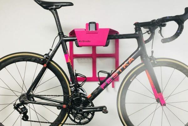 Hang your bike on the wall pink