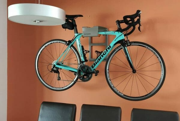 Your bike on the wall like a work of Art