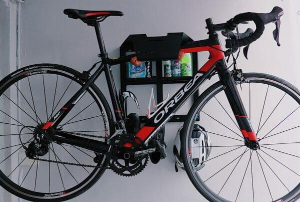 Bike Shelf on the Wall black