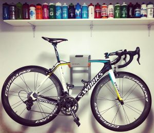 Specialized bike on the wall