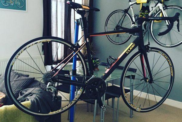 Wall mount bicycleat Ellis