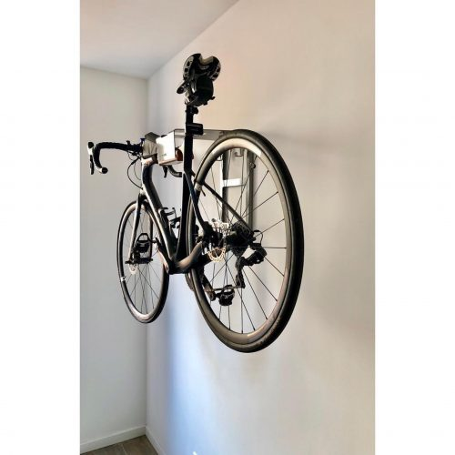Your bike hanging on the wall