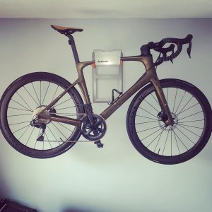 Wall holder bicycle