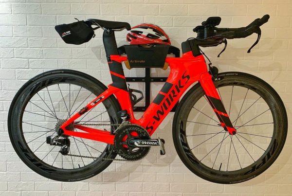 Bike Rack on the wall