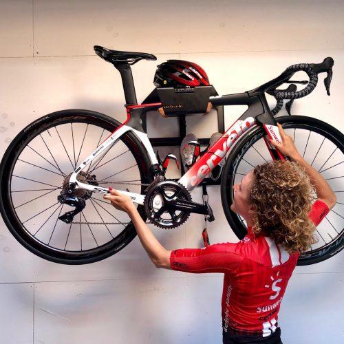Hang your bike on the wall