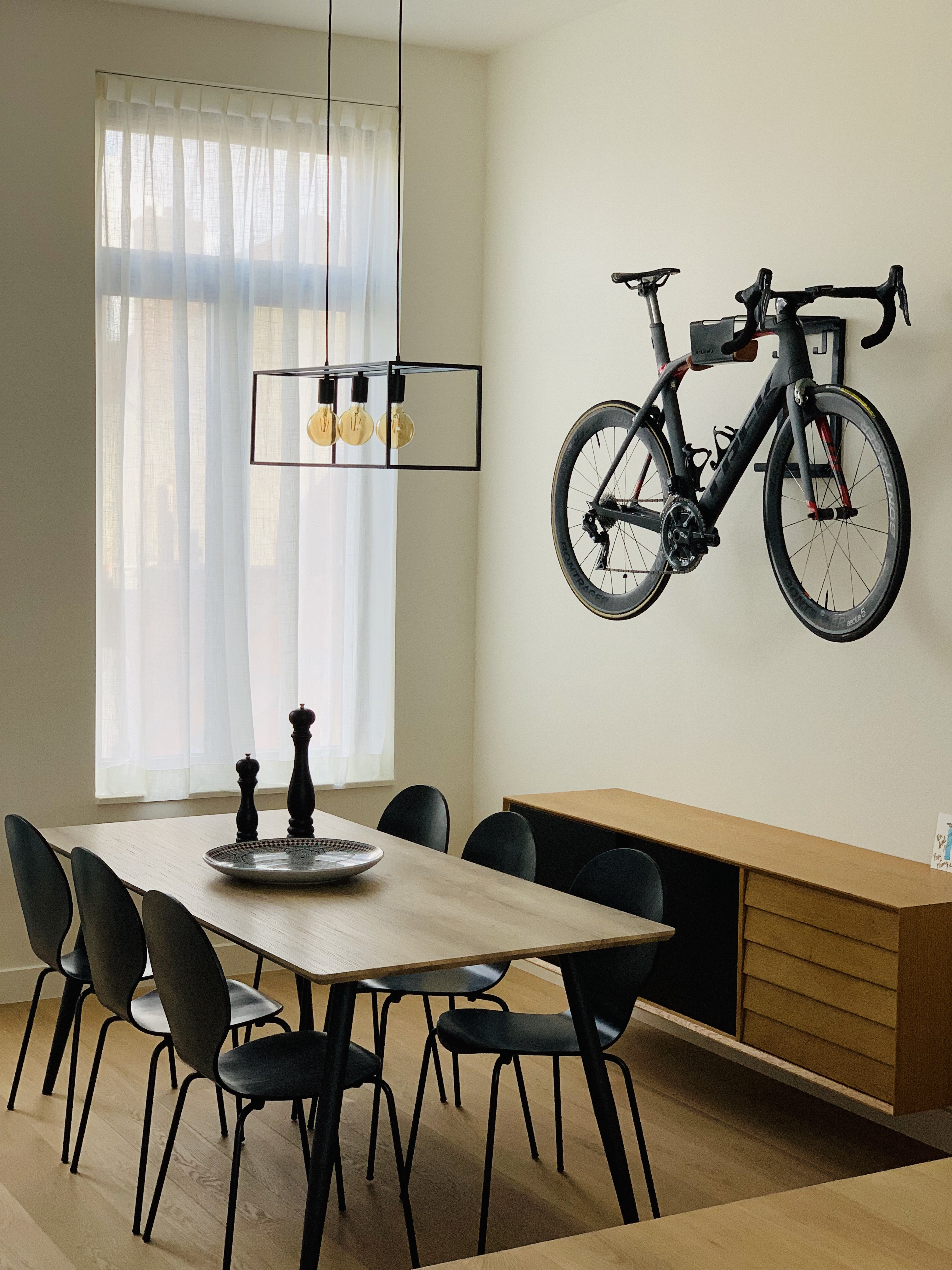 Your racing bike as an interior piece