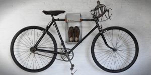Storage your vintage racing bike