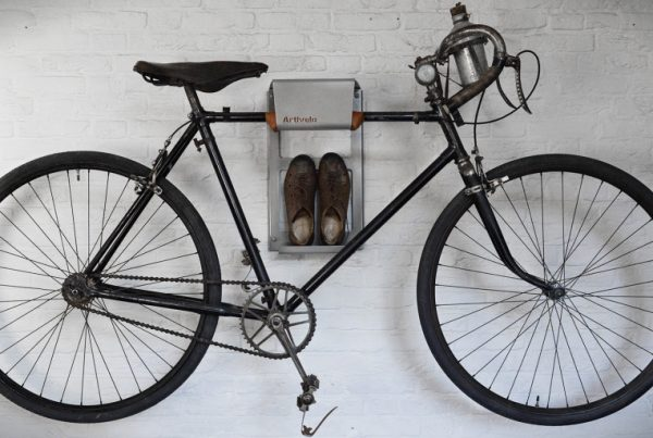 Storage your vintage racing bike