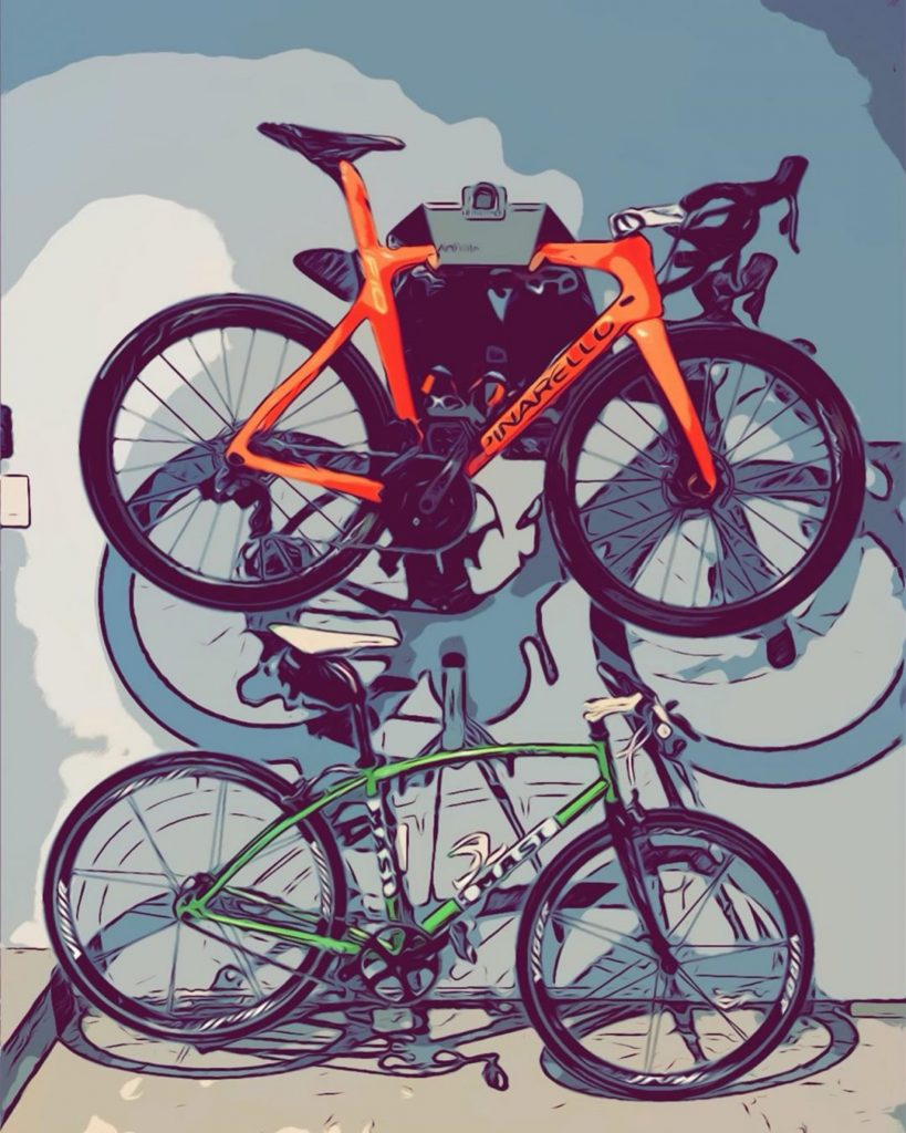Safely store your racing bike at home