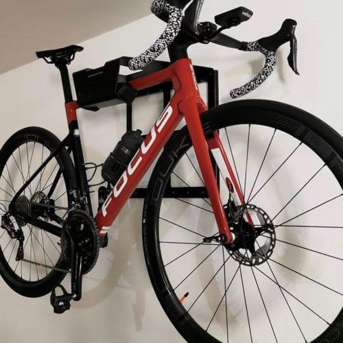 Wall mount racing bike