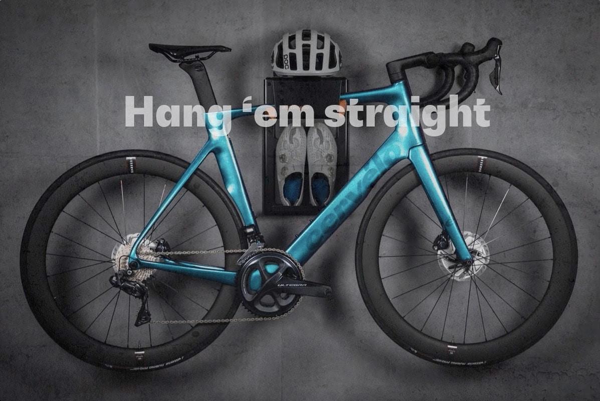 bike wall mount horizontal