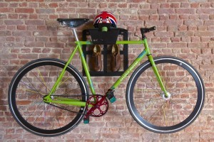 racefiets hangen muur ophangsysteem woonkamer huis apartement Artivelo BikeDock Loft Velodome