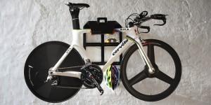 Ophangbeugel voor wielrenfietsen