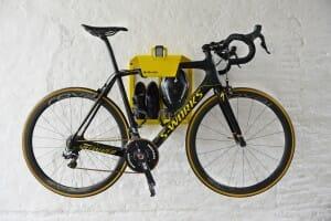 Fietstocht Artivelo BikeDock Limited Edition Tour de France Loft fiets hangen muur ophangsysteem racefiets woonkamer huis apartement