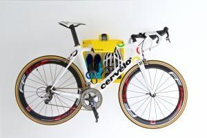 Clean Wandhouder fietsophangsysteem fiets hangen muur ophangsysteem muurbeugel racefiets woonkamer huis apartement Artivelo BikeDock Loft Cycled.cc