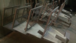 Feestdagen voorraad productie Artivelo BikeDock loft