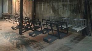 Feestdagen voorraad productie Artivelo BikeDock loft 1
