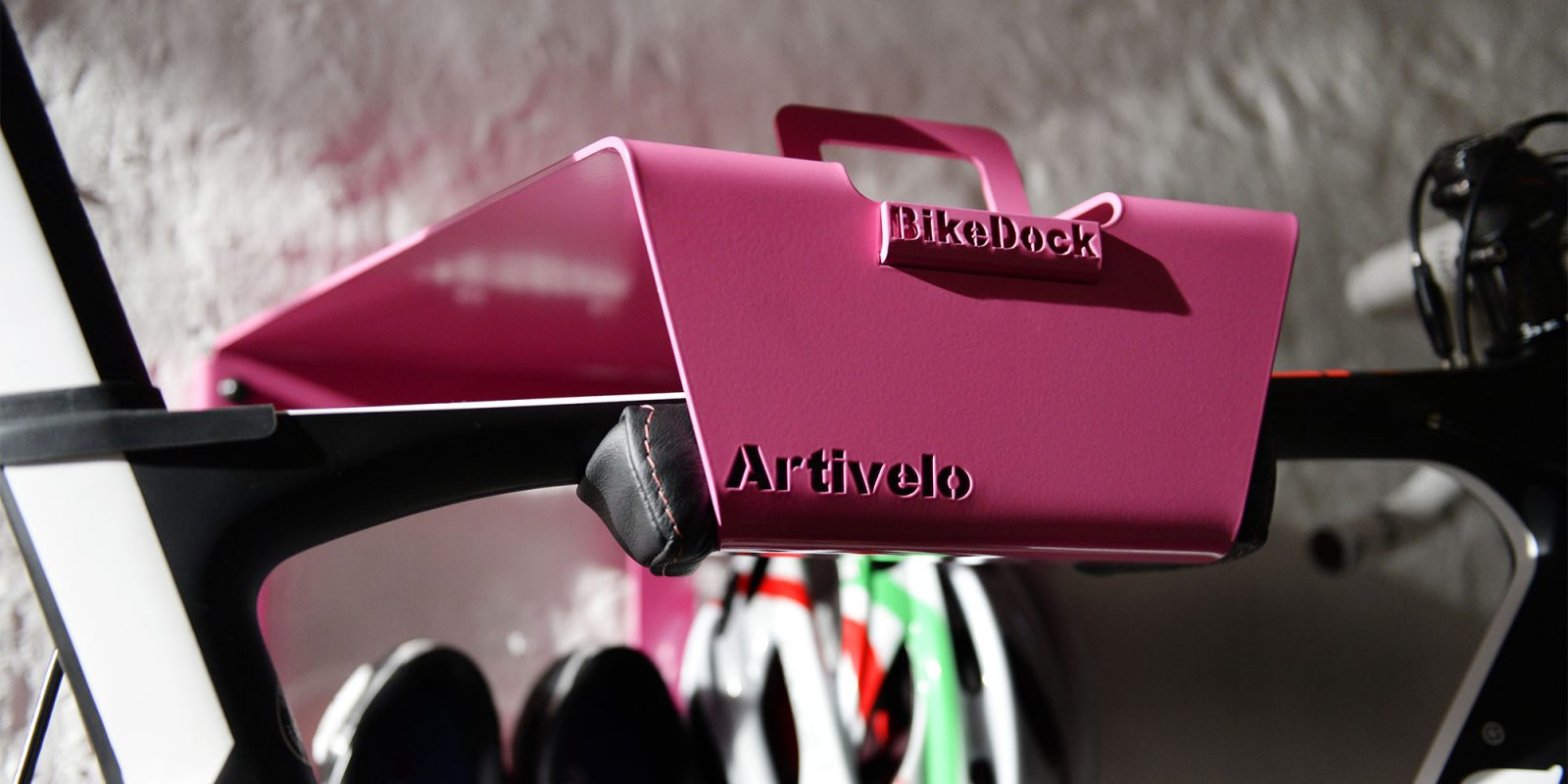 Roze als nieuwe kleur voor de BikeDock