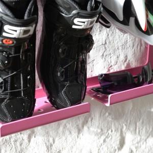 Artivelo BikeDock Rosa Bike Wallmount Fiets ophangsysteem Sidi shoes