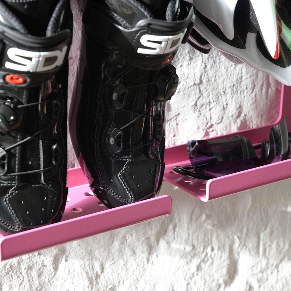 ophangbeugel racefiets en schoenen