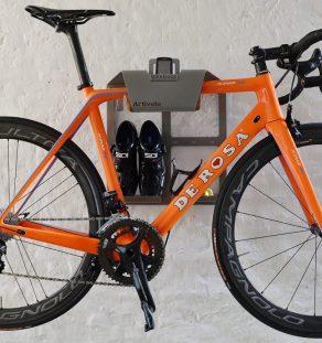Fiets Ophangbeugel Artivelo racefiets ophangsysteem  BikeDock Loft Grey aluminium artivelo
