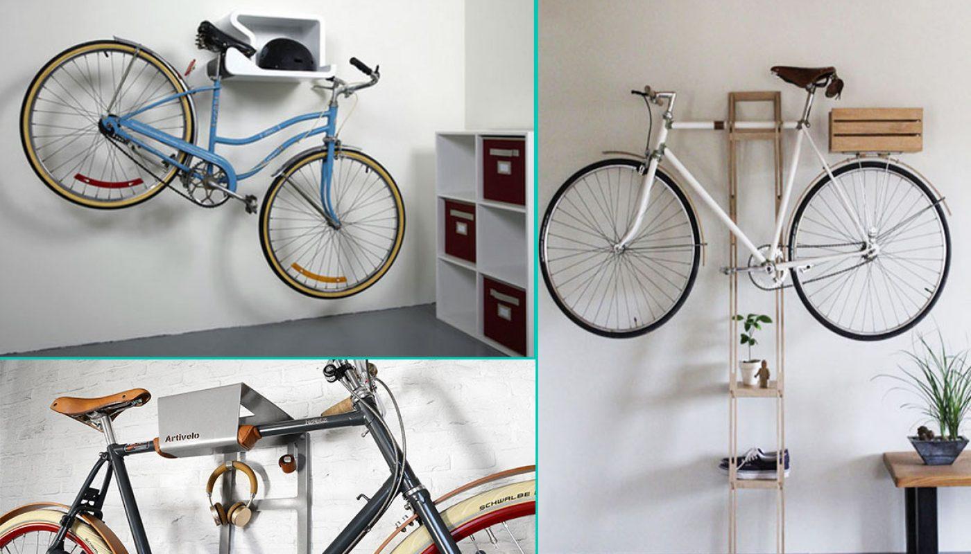 Pedala en fiets hangsysteem de Artivelo BikeDock