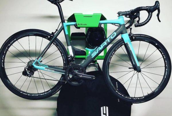 Bikedock ophangsysteem fiets