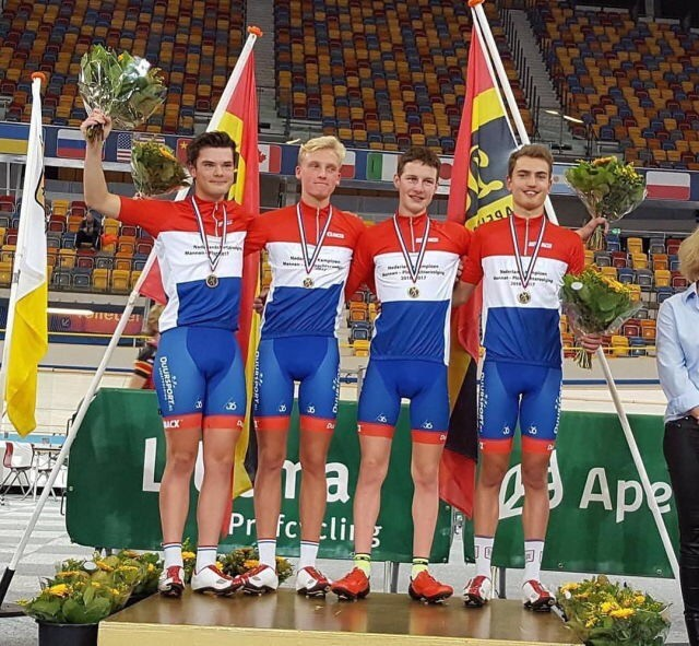 Volharding Jeugd Nederlands Kampioen Baan