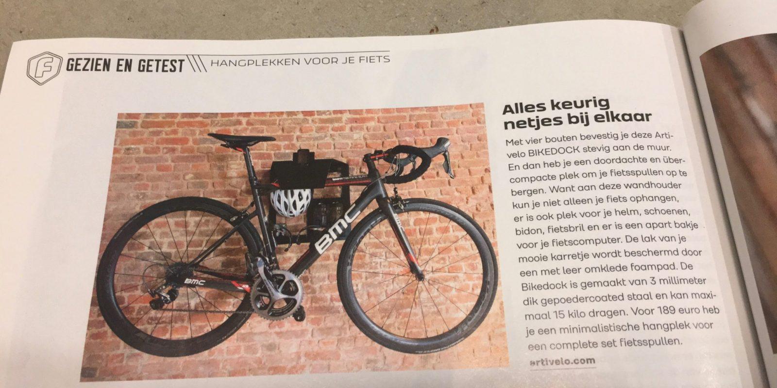 Fiets magazine test de Artivelo BikeDock