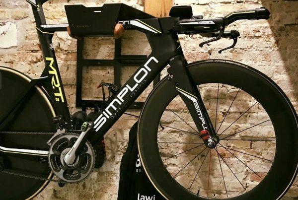 Bikedock ophangsysteem racefiets