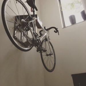 Stijlvol ophangsysteem wielrenfietsen