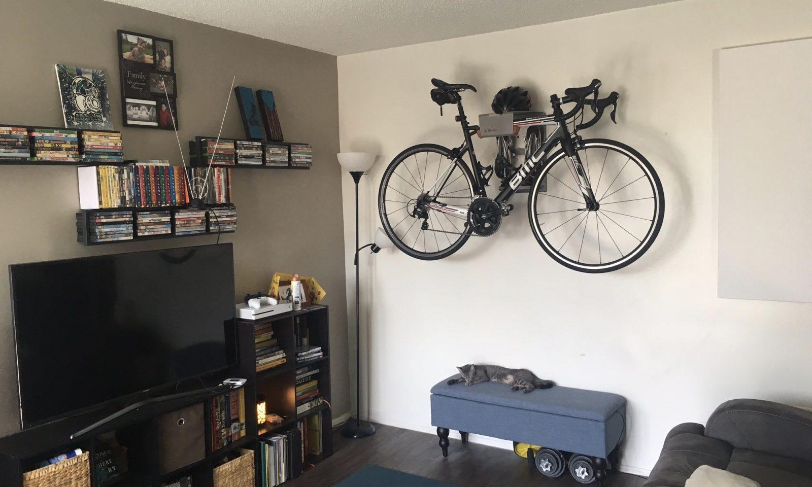Luxe ophangsysteem fiets