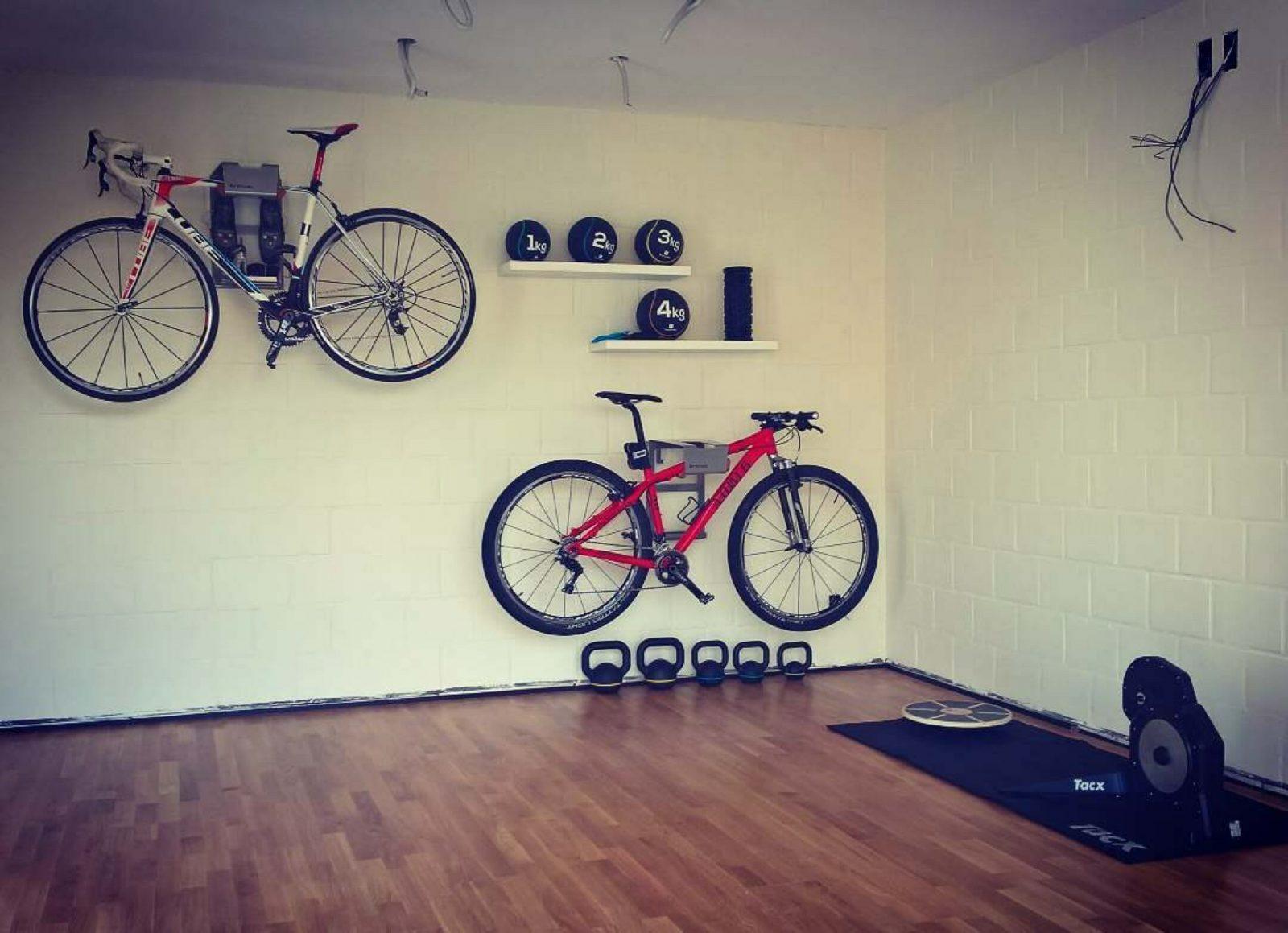 Beugel om fiets op te hangen