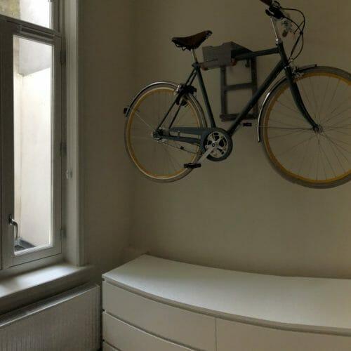 Ophangsysteem fiets muur