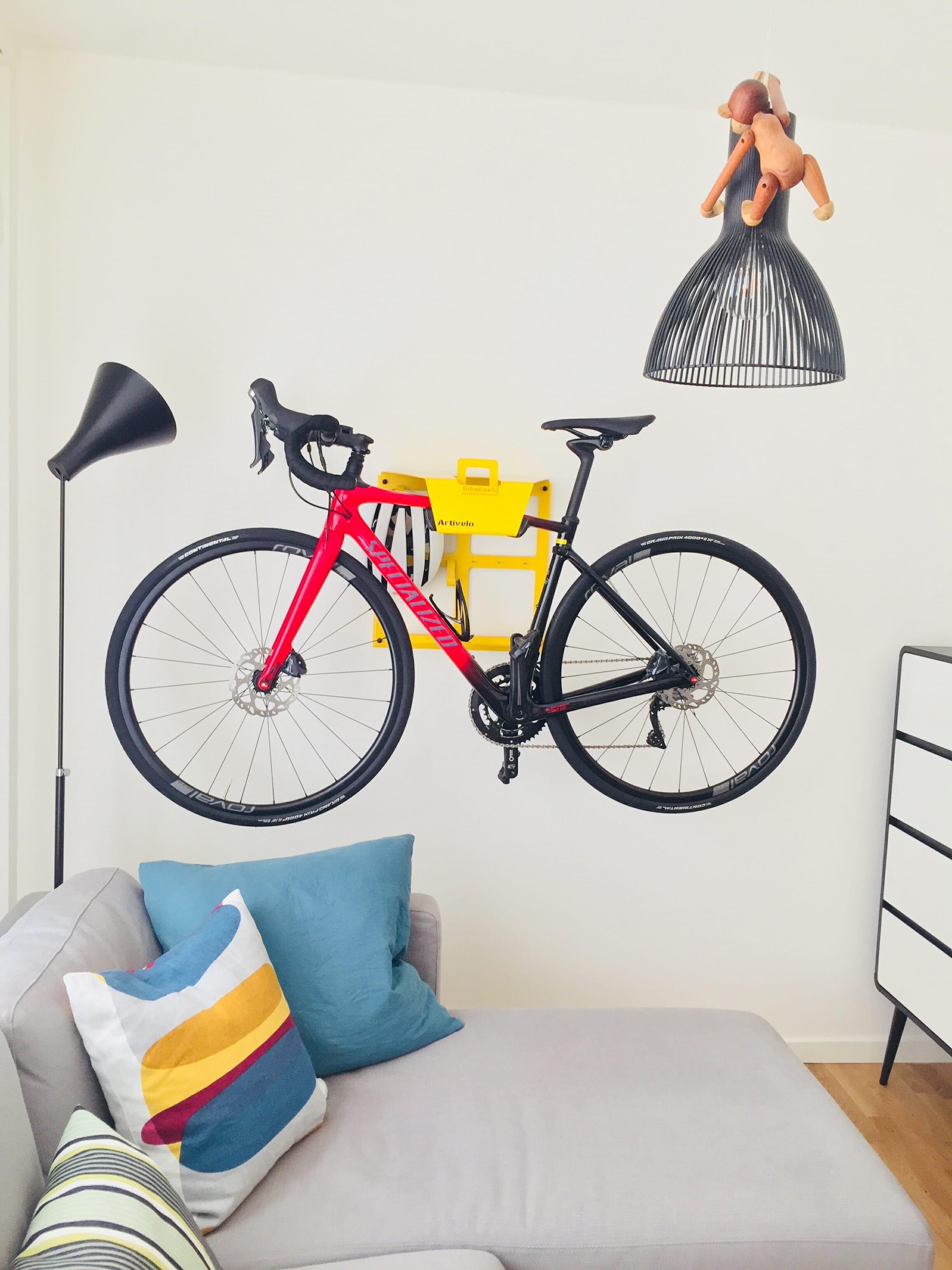 Ophangsysteem fietsendrager