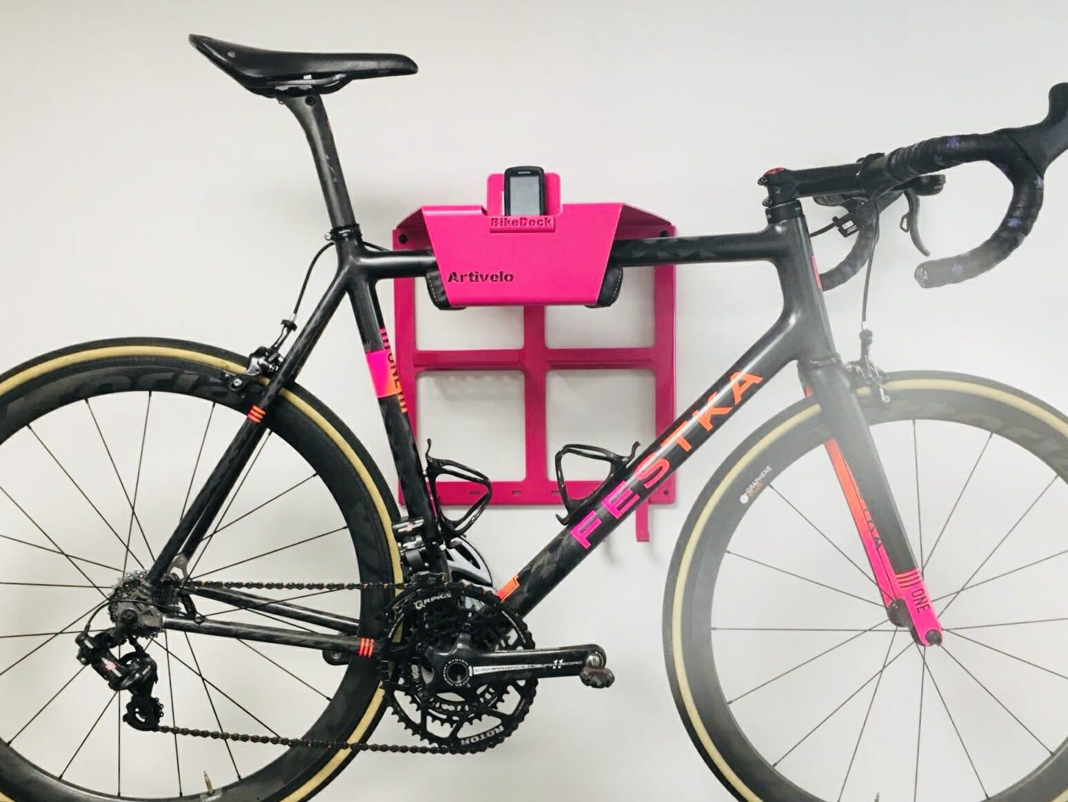 Muurdrager fiets