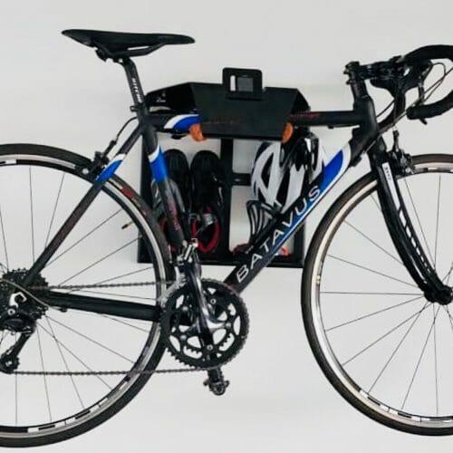 fiets in de woonkamer