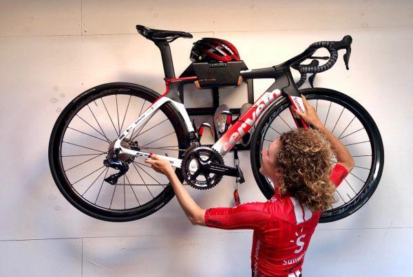 Ophangsysteem voor je racefiets