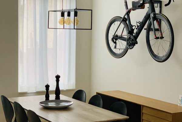 Racefiets in je interieur
